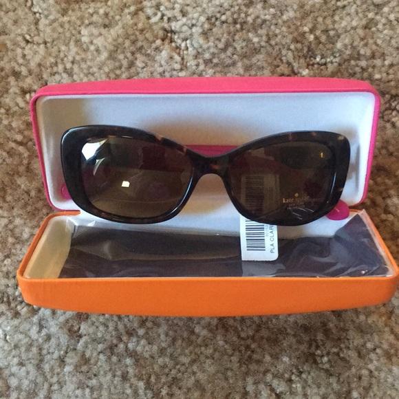 """b6448fcd23 BNWT Kate Spade """"Claretta"""" Sunglasses 53mm"""